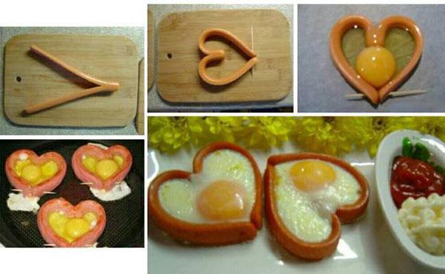 Món trứng ốp la đơn giản cho quý ông vụng về
