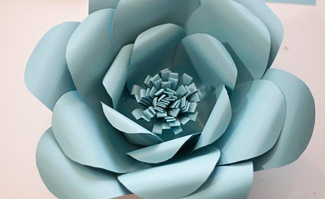 tự làm hoa trang trí cưới