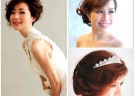 Cô dâu tóc ngắn vẫn thu hút ánh nhìn