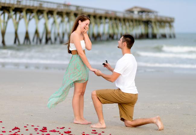 cầu hôn lãng mạn