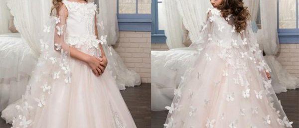 chọn váy cho phụ dâu nhí