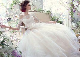 Váy cưới cho cô nàng vòng một khiêm tốn