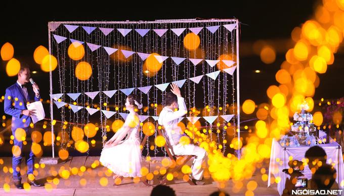 chi phí cho tổ chức lễ cưới ngoài bãi biển