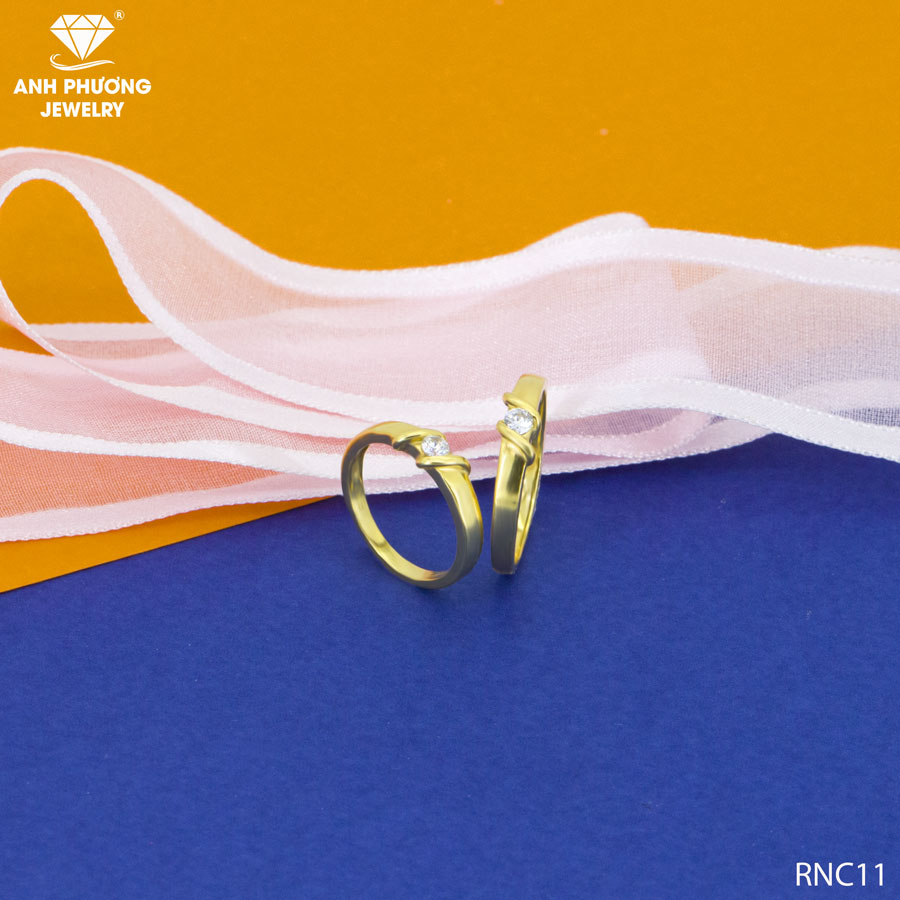 nhẫn cưới vàng