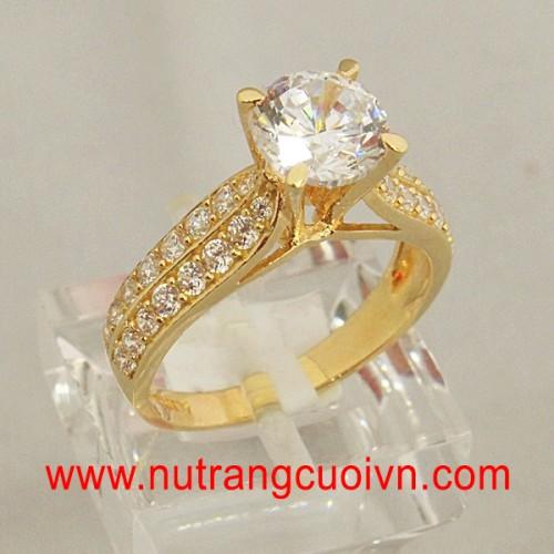 Nhẫn đính hôn - nhẫn kiểu HNK2281