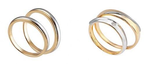 Nhẫn cưới 2 màu