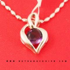 Mua MẶT DÂY CHUYỀN ĐÁ Saphire MDSA06 tại Anh Phương Jewelry