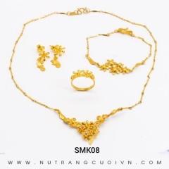 Mua BỘ TRANG SỨC CƯỚI SMK08 tại Anh Phương Jewelry