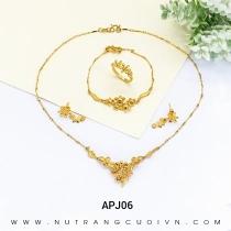 Mua BỘ TRANG SỨC CƯỚI APJ06 tại Anh Phương Jewelry
