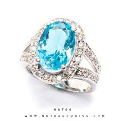 Mua Nhẫn bạc mặt đá Topa NAT06 tại Anh Phương Jewelry