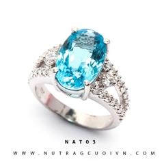 Mua Nhẫn bạc mặt đá Topa NAT03 tại Anh Phương Jewelry