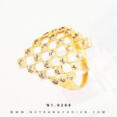 Mua NHẪN KIỂU NỮ 18K NL26 tại Anh Phương Jewelry