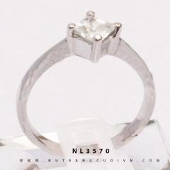 NHẪN ĐÍNH HÔN - NHẪN KIỂU NL3570-8