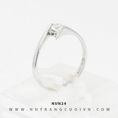Nhẫn đính hôn NUN24
