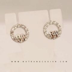 Mua Bông tai đẹp PBT04 tại Anh Phương Jewelry