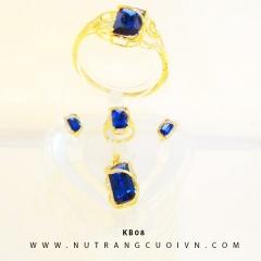 Mua BỘ TRANG SỨC CƯỚI KB08 tại Anh Phương Jewelry