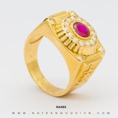 Nhẫn nam đẹp NAN03