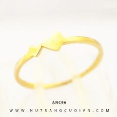 Nhẫn nữ vàng 18K ANC96