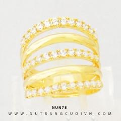 Nhẫn nữ vàng 18K NUN78