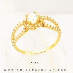 Nhẫn nữ vàng 18K NUN57
