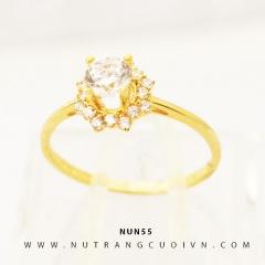 Nhẫn nữ vàng 18K NUN55