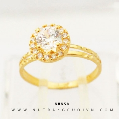 Nhẫn nữ vàng 18K NUN58
