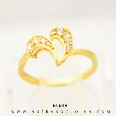 Mua Nhẫn nữ vàng 18K NUN59 tại Anh Phương Jewelry