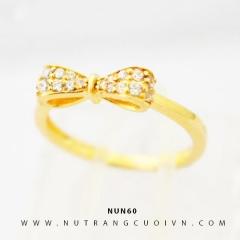 Mua Nhẫn nữ vàng 18K NUN60 tại Anh Phương Jewelry