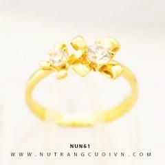 Nhẫn nữ vàng 18K NUN61