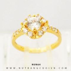 Nhẫn nữ vàng 18K NUN64