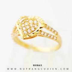 Nhẫn nữ vàng 18K NUN65