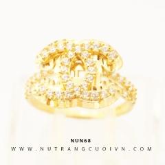 Nhẫn nữ vàng 18K NUN68