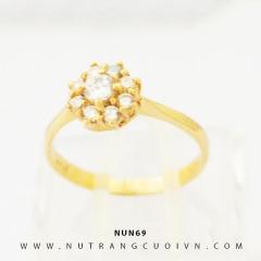 Nhẫn nữ vàng 18K NUN69