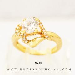 Nhẫn nữ vàng 18K NL38