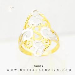 Nhẫn nữ vàng 18K NUN74