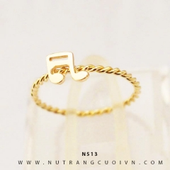 Nhẫn nữ vàng 18K N513