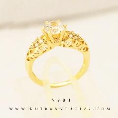 Nhẫn nữ đẹp N981