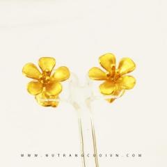 Bông tai mạ vàng BTB01