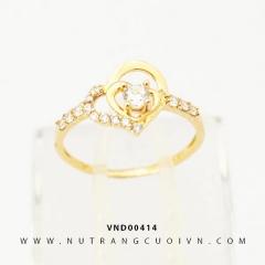 Nhẫn nữ đẹp VND00414