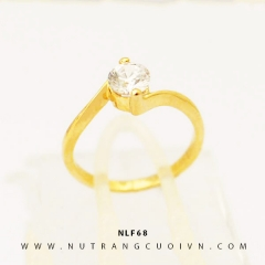 Nhẫn nữ đẹp NLF68
