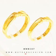 NHẪN CƯỚI HNNC07