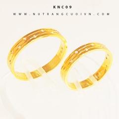 NHẪN CƯỚI KNC09