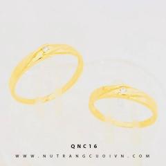 NHẪN CƯỚI ĐẸP QNC16