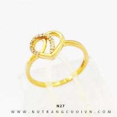 Nhẫn vàng nữ N27