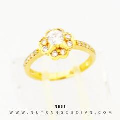 Nhẫn vàng nữ NB51