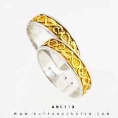 Nhẫn cưới đẹp ANC110