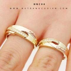 Mua NHẪN CƯỚI HNC04 tại Anh Phương Jewelry