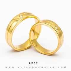 Mua NHẪN CƯỚI AP07 tại Anh Phương Jewelry