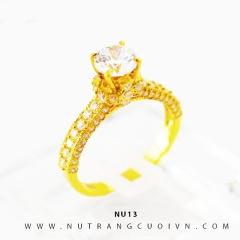 Nhẫn vàng nữ NU13