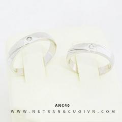 Mua NHẪN CƯỚI ĐẸP ANC40 tại Anh Phương Jewelry